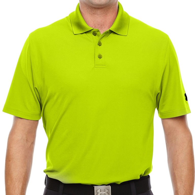 5fcac5fe Men's Under Armour Corp Performance Polo Hi Vis Yellow – The Granite ...